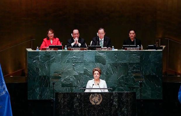 Dilma Vana fala sobre o clima