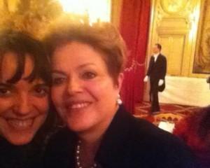 Márcia Bechara e Dilmãe