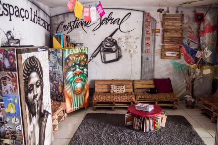 ...e por dentro - fotos Rômulo Juracy/Favela Sounds