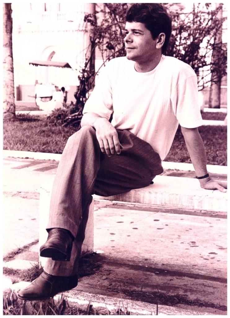 O poeta Antonio Carlos Alvim. Foto: Eduardo Júlio