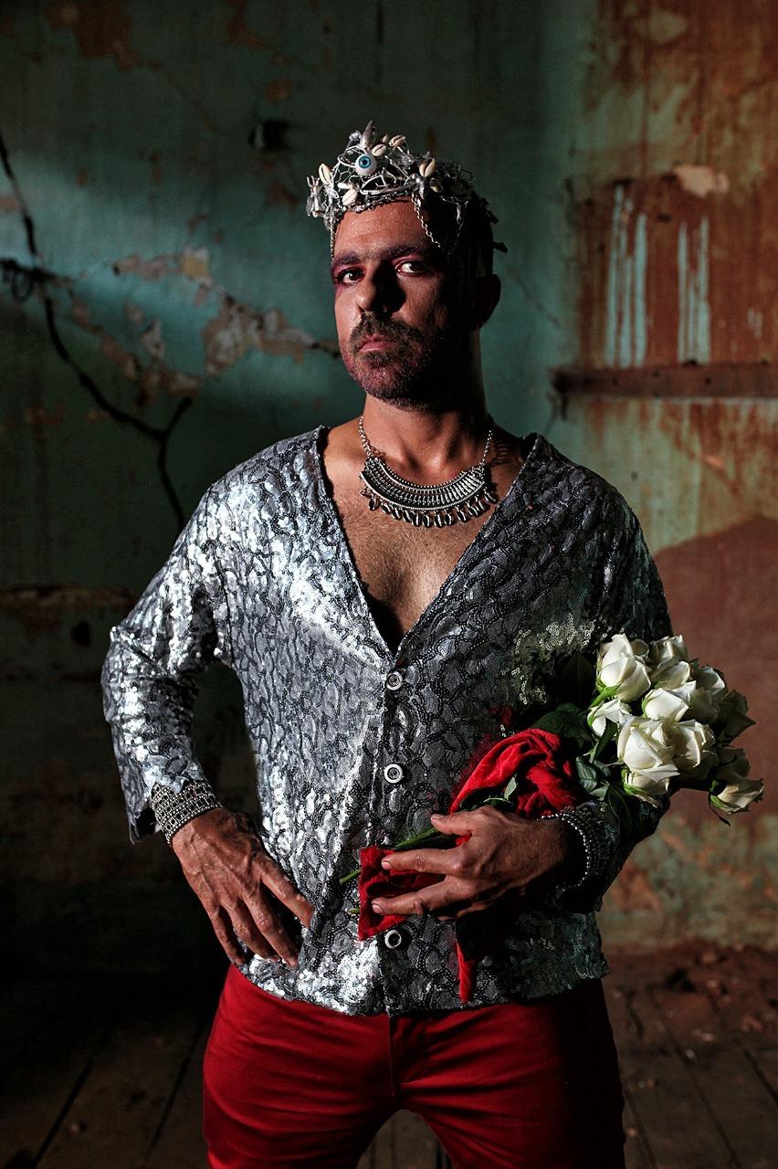 O cantor Cláudio Lima. Foto: Márcio Vasconcelos