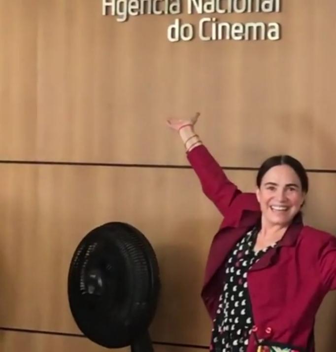 Regina Duarte na Ancine