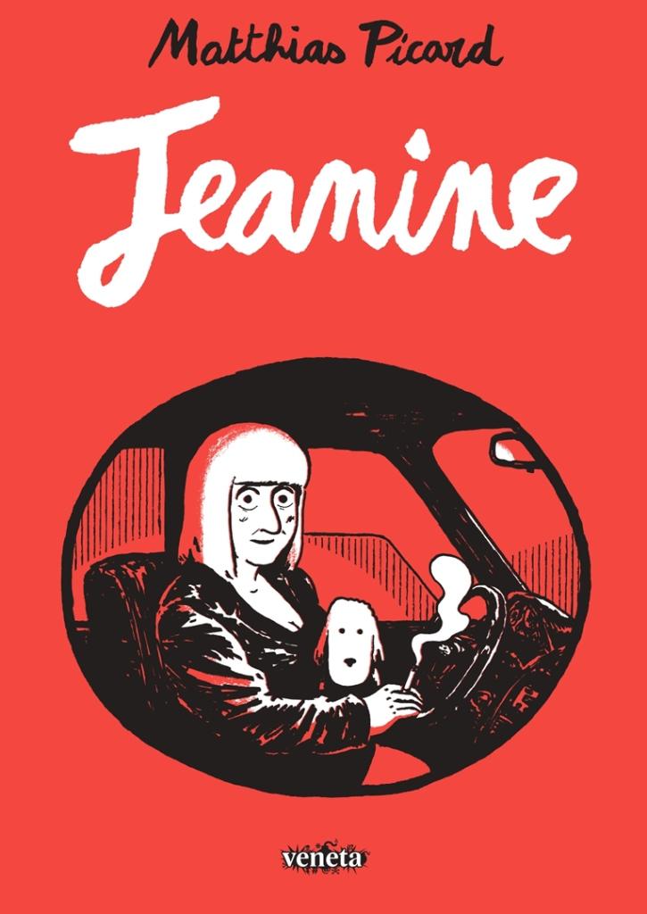 Jeanine. Capa. Reprodução