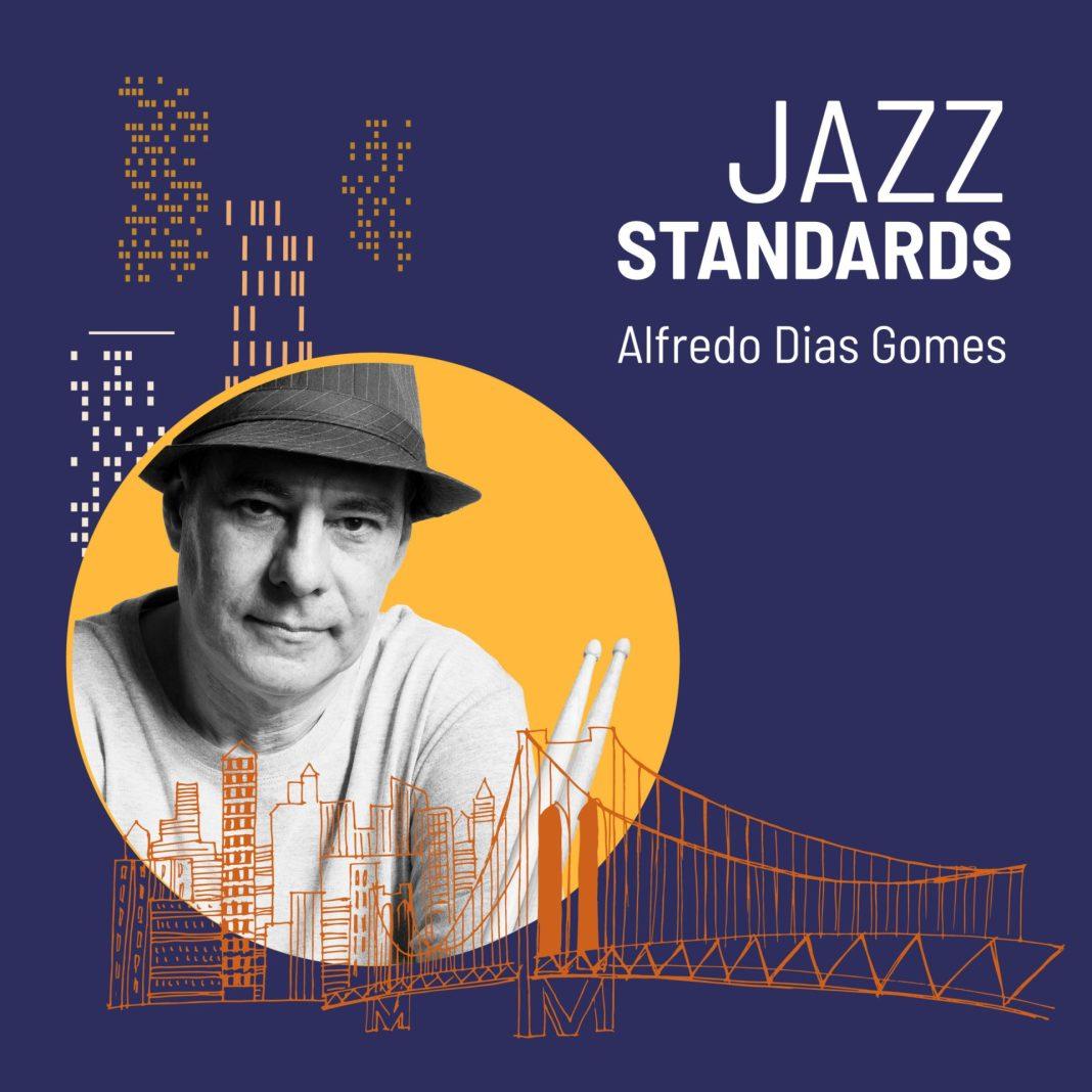 Capa do CD Jazz Standards com Alfredo Dias Gomes,