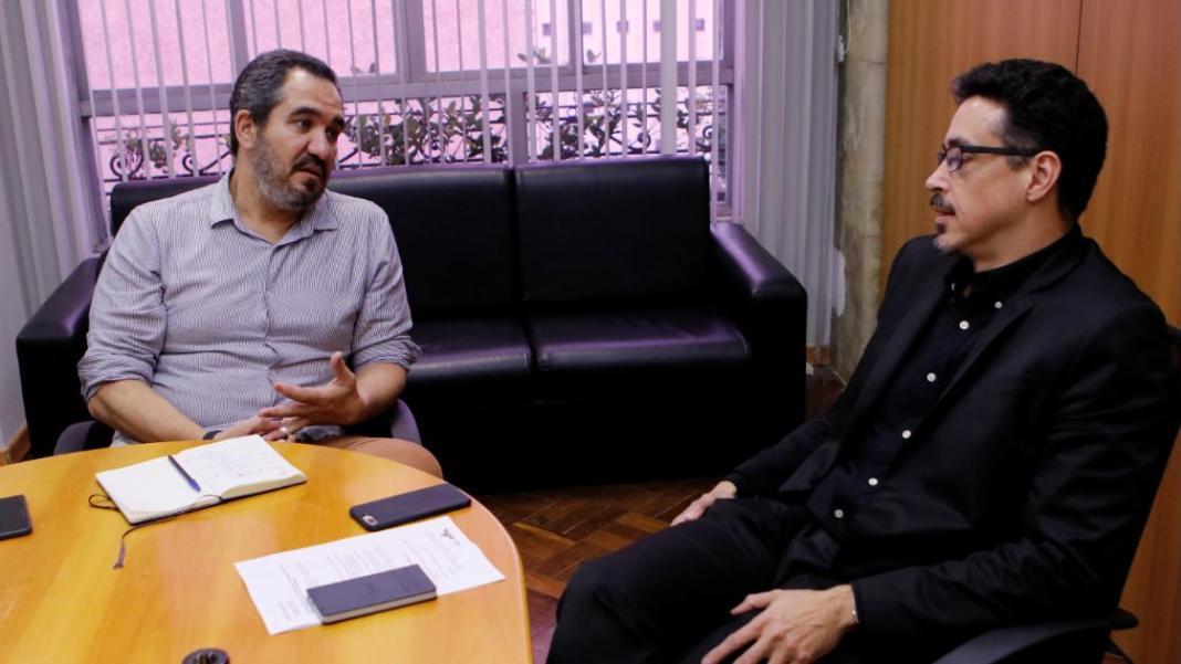 Christian de Castro e Sergio Sá Leitão