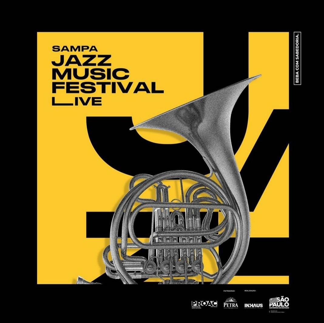 Sampa Jazz Fest. Cartaz. Reprodução
