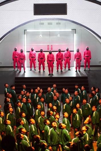 """Cena de """"Round 6"""", da Netflix - Foto: Youngkyu Park"""