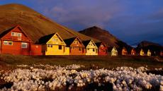 Longyearbyen colorful