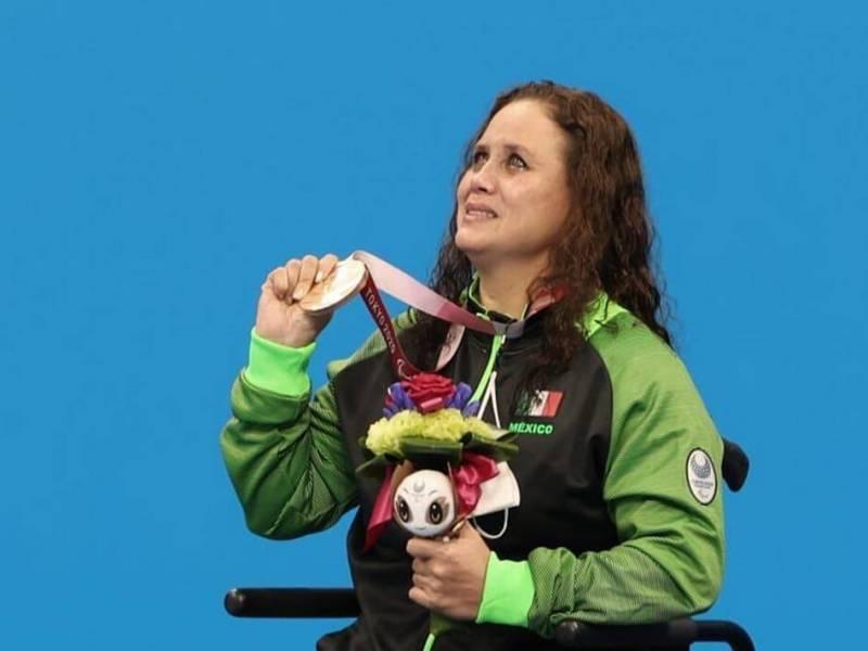 Nely Miranda logró medalla de bronce en Paralímpicos