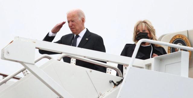 Biden recibió féretros de los soldados muertos en Kabul