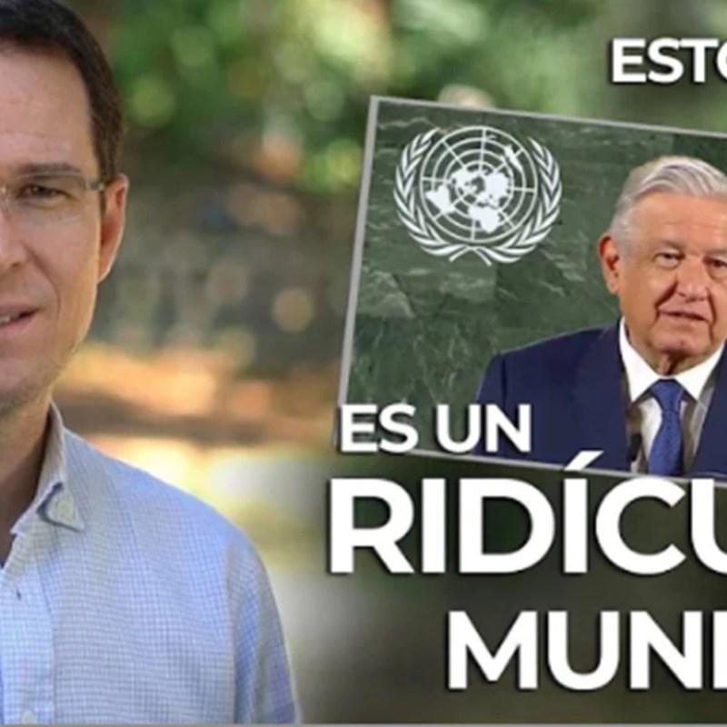 Tras el anuncio de AMLO sobre su asistencia en un evento de la ONU, el ex-candidato, Ricardo Anaya, descalificó nuevamente al mandatario.