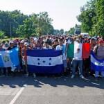 La CNDH solicita protección para migrantes ante posible caravana