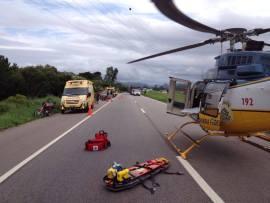 Resgate em Paulo Lopes (PRF)