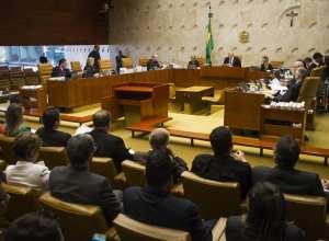 Sessão plenária do STF - foto de Dorivan Marinho/SCO/STF