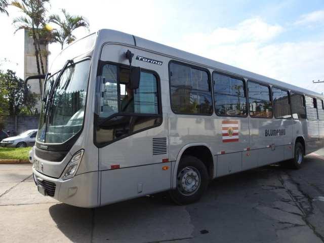 Ônibus da nova frota- foto de Jaime Batista
