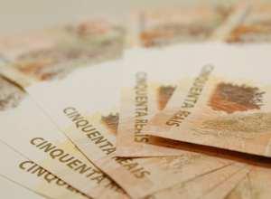 Cédulas de 50 reais - foto da Agência Brasil