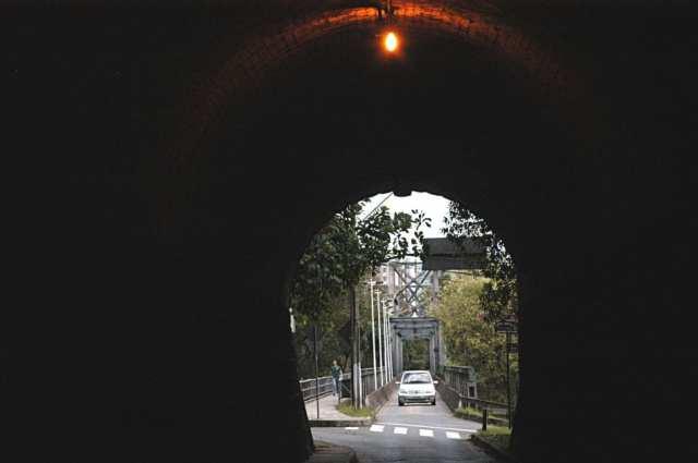 Túnel na Ponte de Ferro - foto de Marcelo Martins