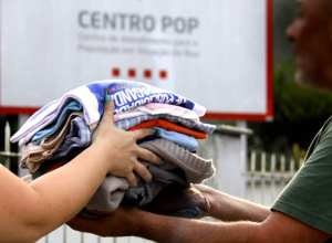 Doações são destinadas às pessoas em situação de rua e moradores do abrigo municipal (Marcelo Martins - PMB)