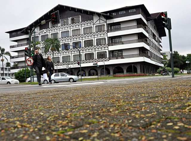 Frio em Blumenau - foto de Eraldo Schnaider - PMB)