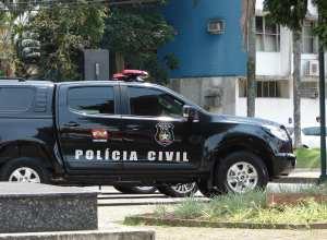 Viatura da Polícia Civil de Santa Catarina - foto de Jaime Batista