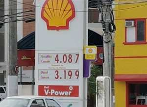 Média de preço dos combustíveis está acima de R$ 4 (Jaime Batista/PMB)