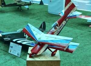 Aeromodelos em exposição no Neumarkt Shopping
