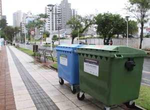 Samae avisa sobre separação correta dos lixos comum e reciclável (Marcelo Martins)