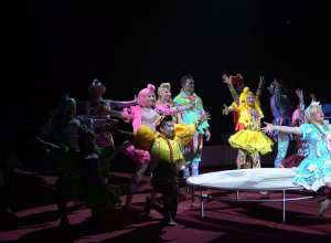 """Espetáculo """"O sonho vai começar"""" do Circo dos Sonhos"""