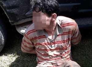 Suspeito de participar dos assaltos em Mirim Doce
