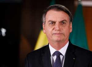 Pronunciamento do Presidente da República, Jair Bolsonaro - foto de Isac Nóbrega/PR (Brasília - DF, 24/04/2019)