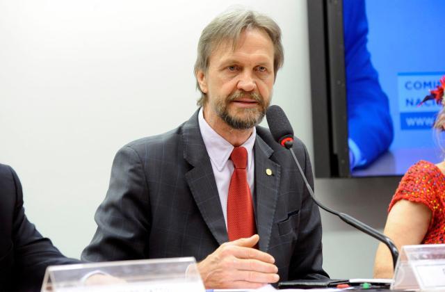 Deputado petista Pedro Uczai - foto de Luis Macedo/Câmara dos Deputados