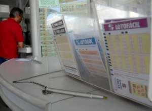 Aposta pode ser feita em qualquer casa lotérica - foto da Agência Brasil