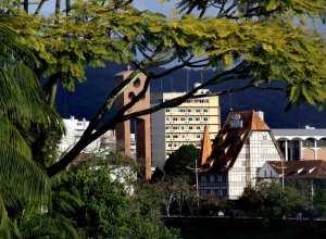 Castelo da Moellmann, cartão postal de Blumenau - foto de Marcelo Martins