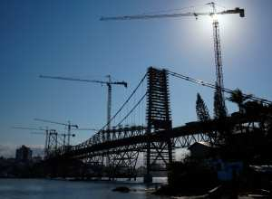 Ponte Hercílio Luz - foto de Ricardo Wolffenbuttel / Secom