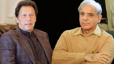 Mian Shahbaz Shareef and Imran Khan 2021