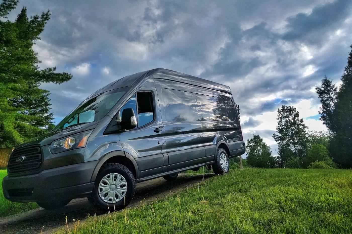 Ford Transit Larger Tires Upgrade