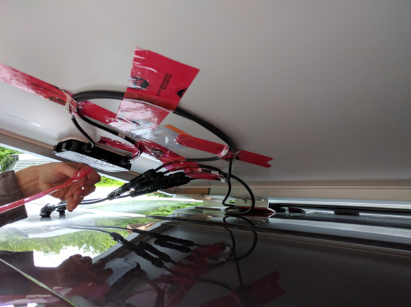 Solar Panels Installation On Our Camper Van Conversion