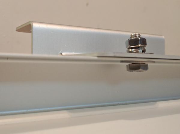 Solar Panel Installation, fastener stackup