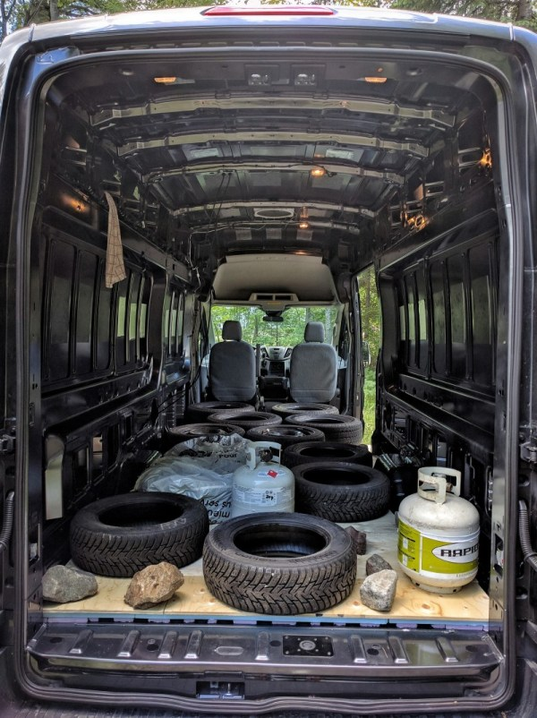 Van Conversion, Floor, weight on top