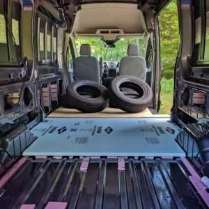 Van Conversion, Floor, weigth on top