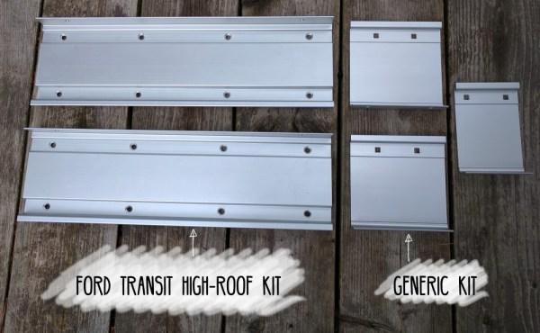 Fiamma High-Roof Ford Transit Kit vs Generic Kit