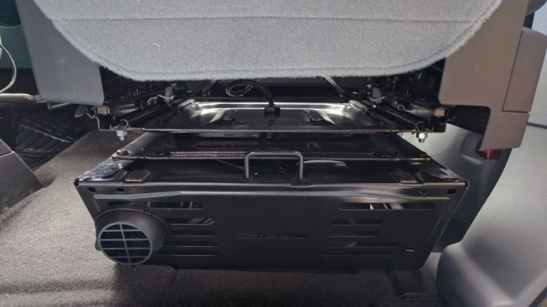 Van Conversion Webasto Air Heater, Final