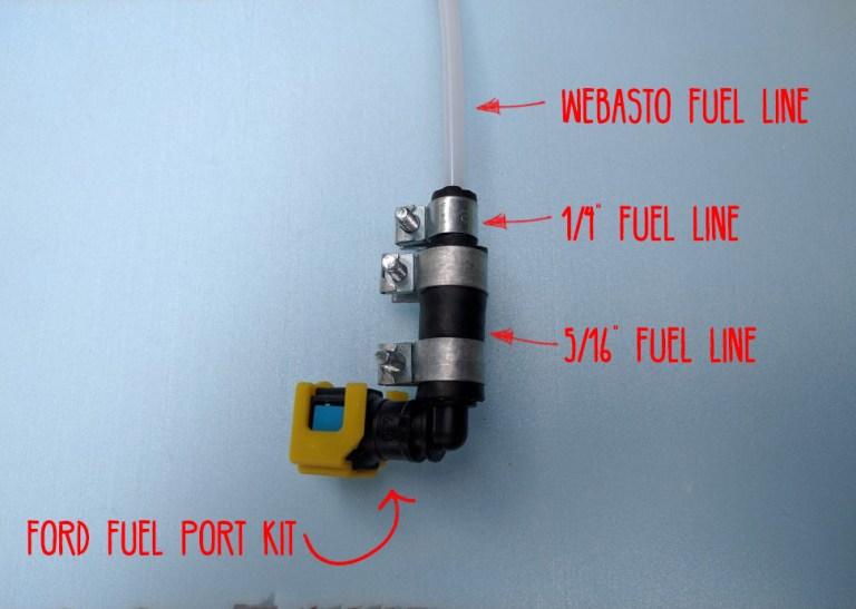 fuel line webasto