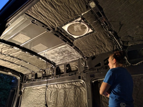 Insulation Camper Van Thinsulate Cargo