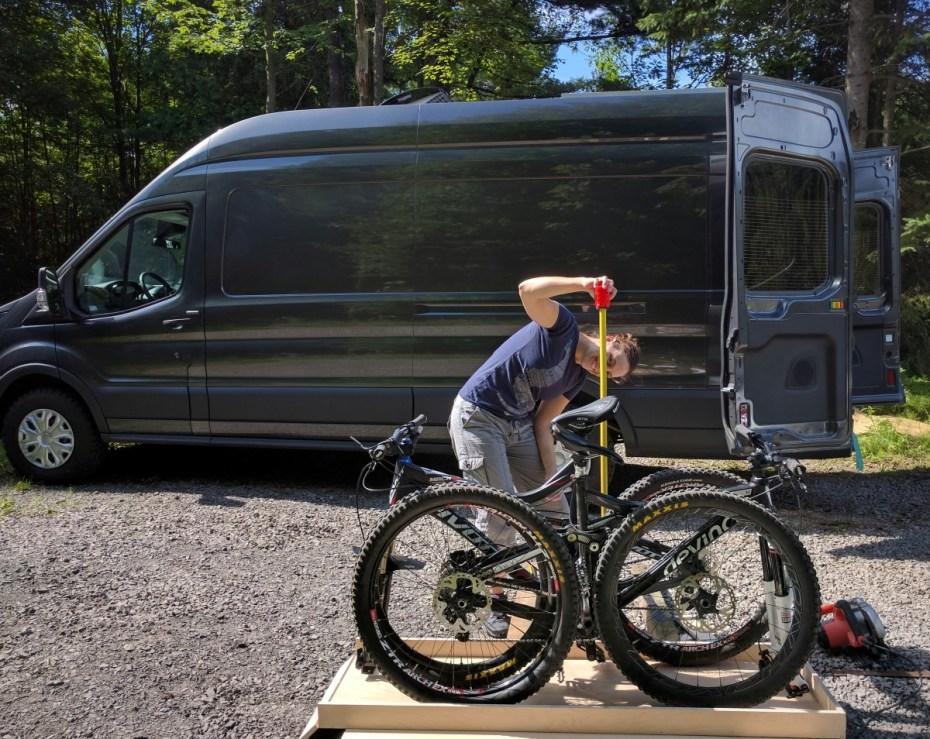 ford-transit-camper-van-conversion-slide-out-bike-rack-5