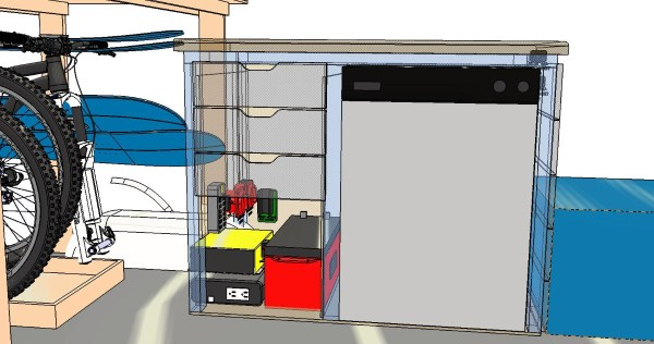 Electrical System Installation Van Conversion CAD 3D Model