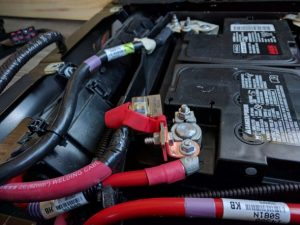 Inverter Van Battery Positive