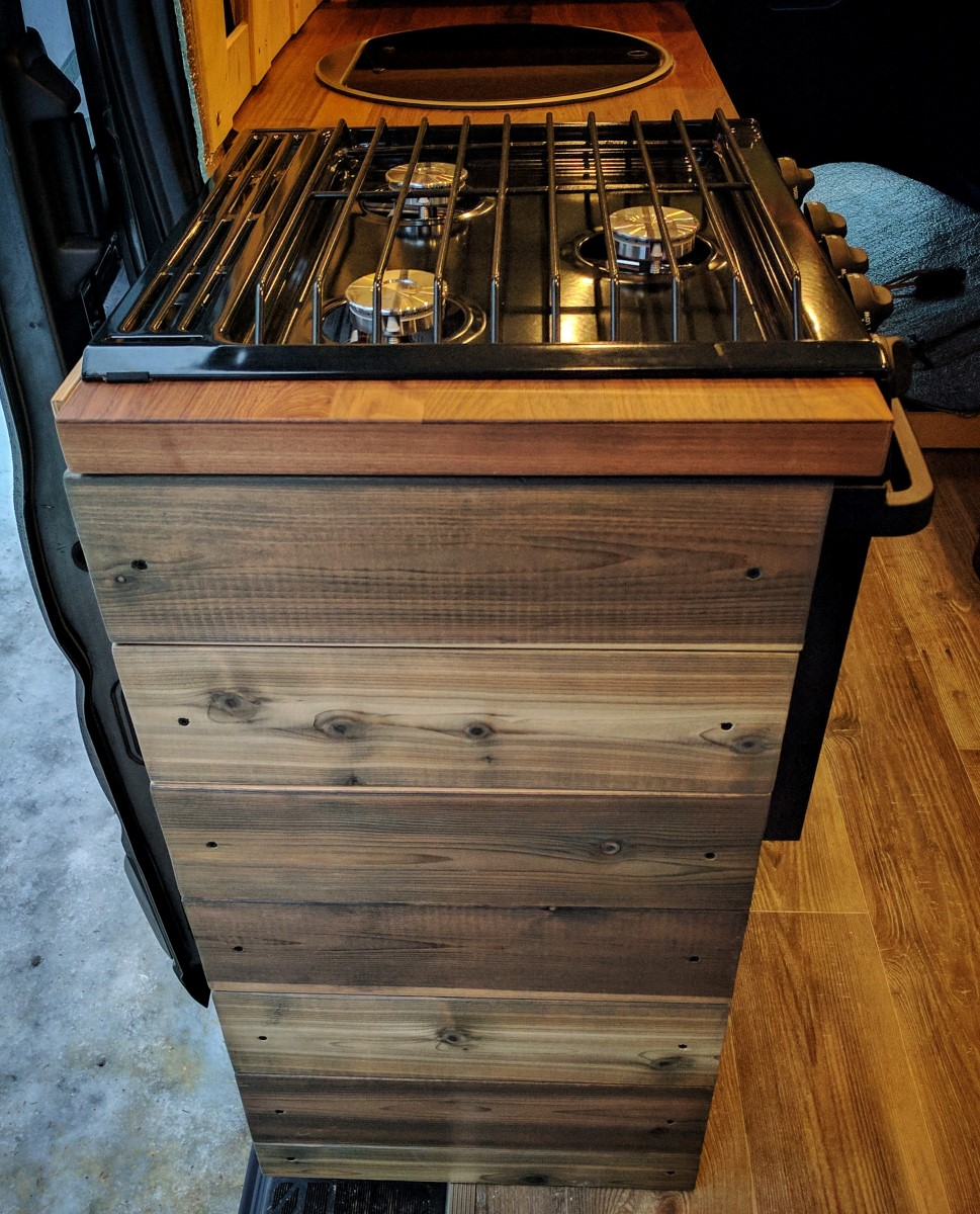 Sink Stove Cabinet Van Conversion (9)