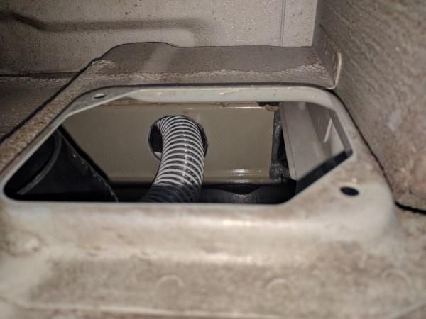 Composting Toilet Installation Camper Van Conversion (49)