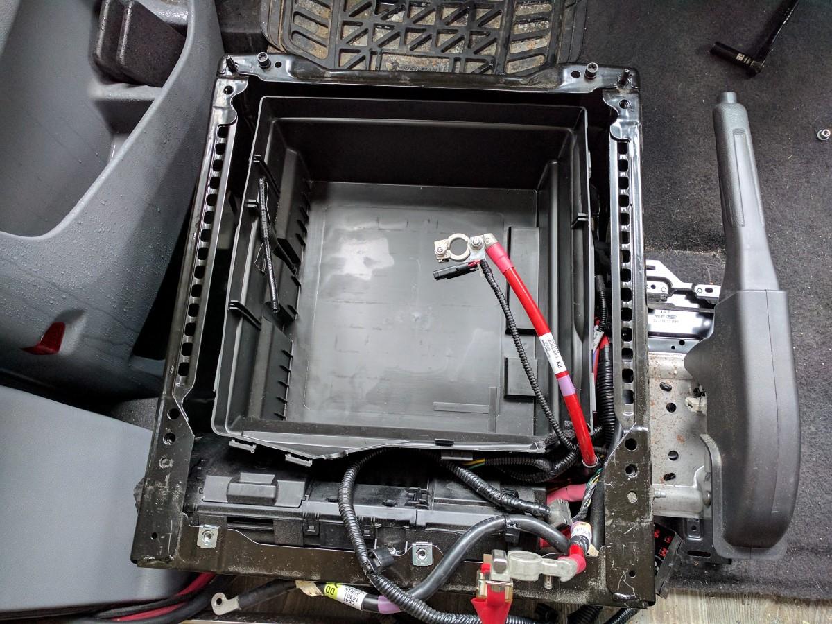 driver swivel seat installation faroutride ford transit driver side swivel  installation (26)